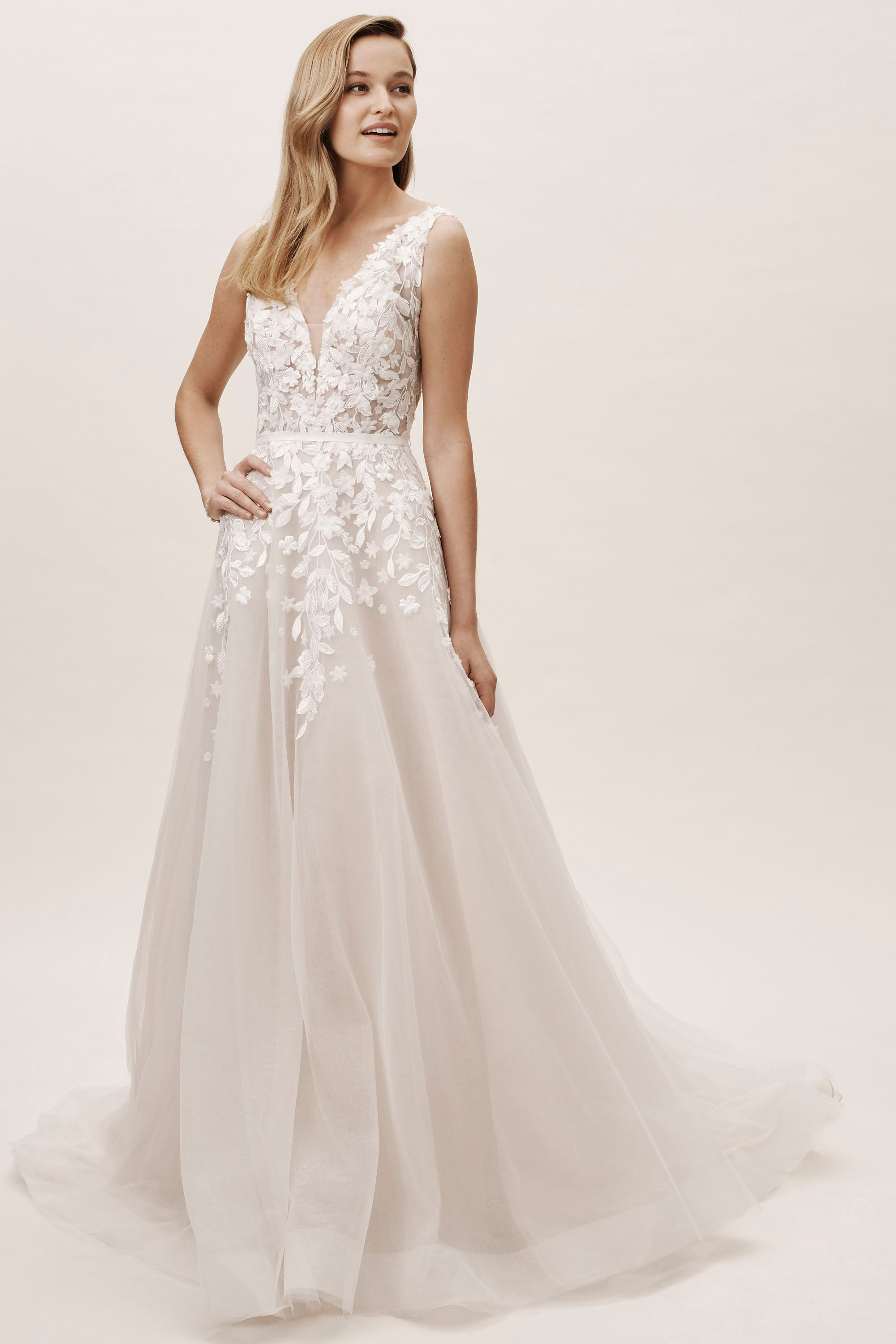 Bhldn Carmel Gown A Line Wedding Dress Wedding Dresses Lace Designer Wedding Dresses