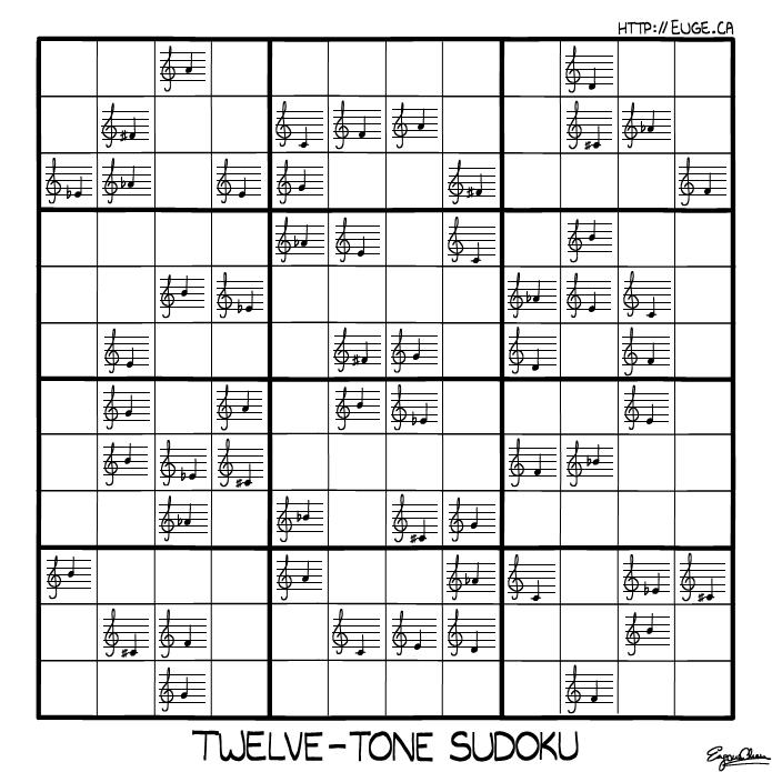 Dodecaphony - Twelve-Tone Sudoku!