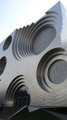 kring kumho culture complex unsangdong architects futuristic architecture creative architecture modern architecture pinterest