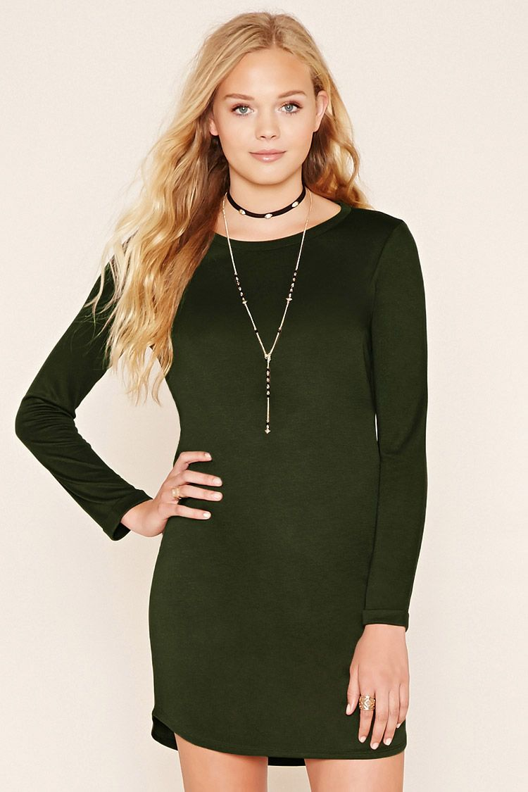 Style deals a classic tshirt dress crafted from an unlined knit