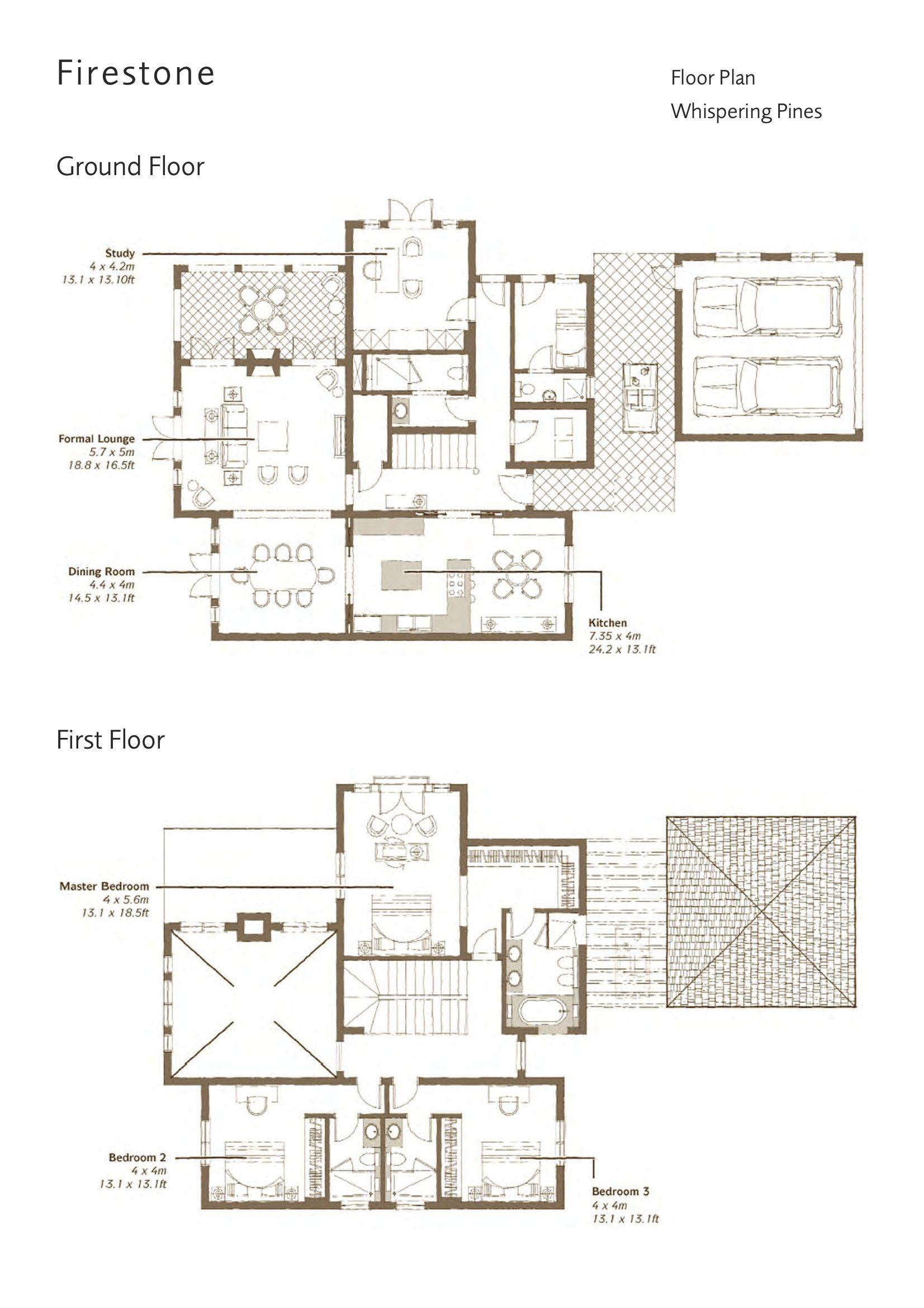 Whispering Pines Villas Floor Plans Jumeirah Golf Estates Dubai Uae Floor Plans How To Plan Villa Plan