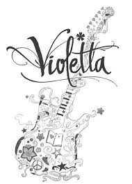 Kleurplaten Disney Violetta.Violetta Kleurplaten Google Zoeken Violetta Home Decor