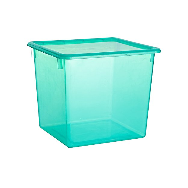 Large Clear Plastic Storage Box Reviews Crate And Barrel Plastic Box Storage Plastic Storage Storage Boxes