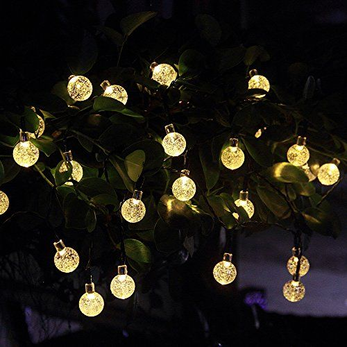 Garden String Lights Delectable Innoo Tech Solar Outdoor String Lights 197 Ft 30 Led Warm White