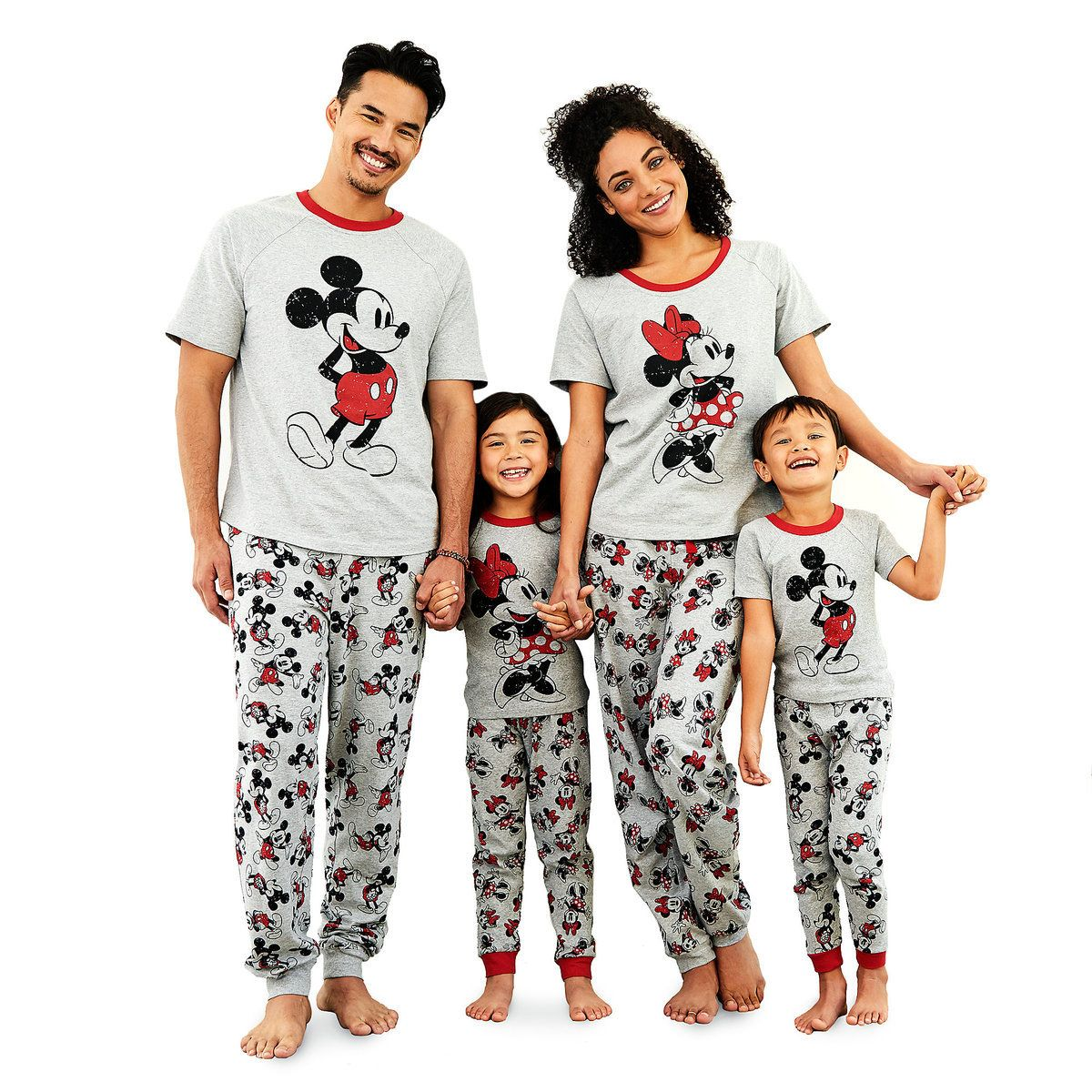 4edf6d43a1 Minnie Mouse Pajama Set for Girls - Mickey and Minnie Family Sleepwear
