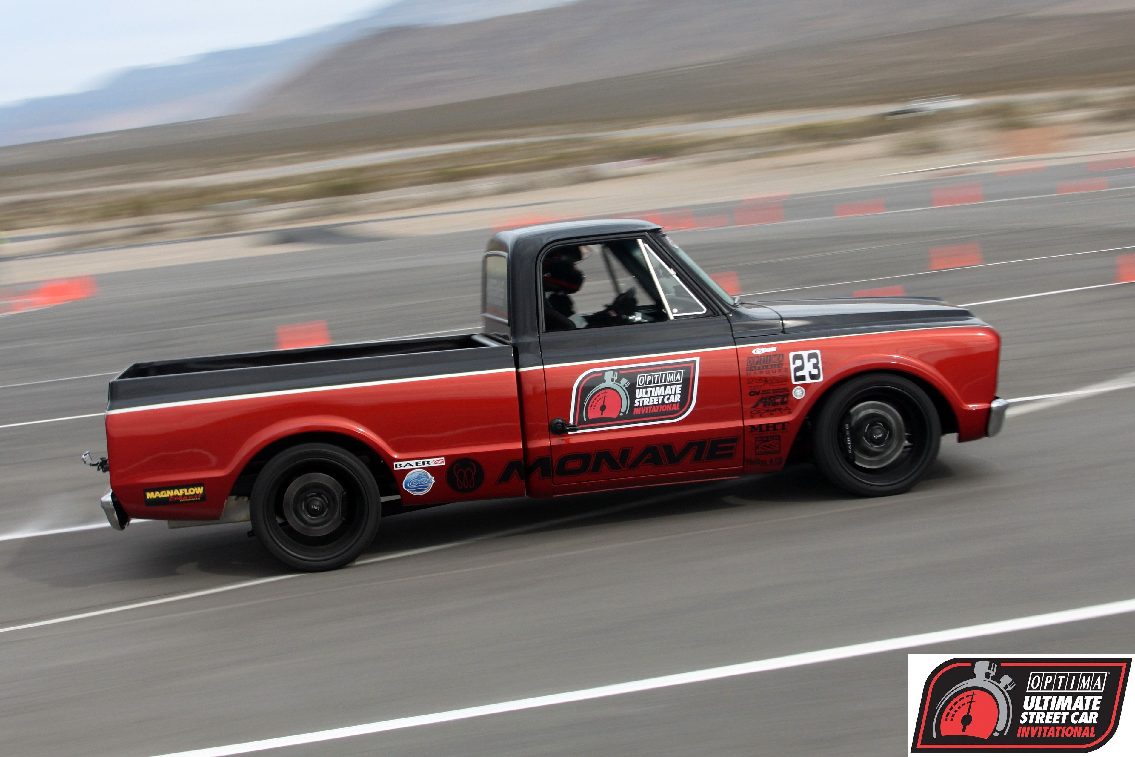 Rob Phillips Competed In The 2010 Ousci In His 1969 Chevrolet Pickup Pro Touring Cars Chevrolet Pickup 72 Chevy Truck