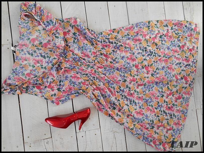 New Look Wspaniala Sukienka W Kwiatki 36 5879687820 Oficjalne Archiwum Allegro Summer Dresses Dresses Fashion