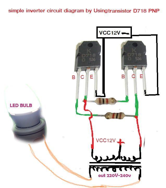 How To Make Simple Inverter  U0026 Diagram Simple Inverter