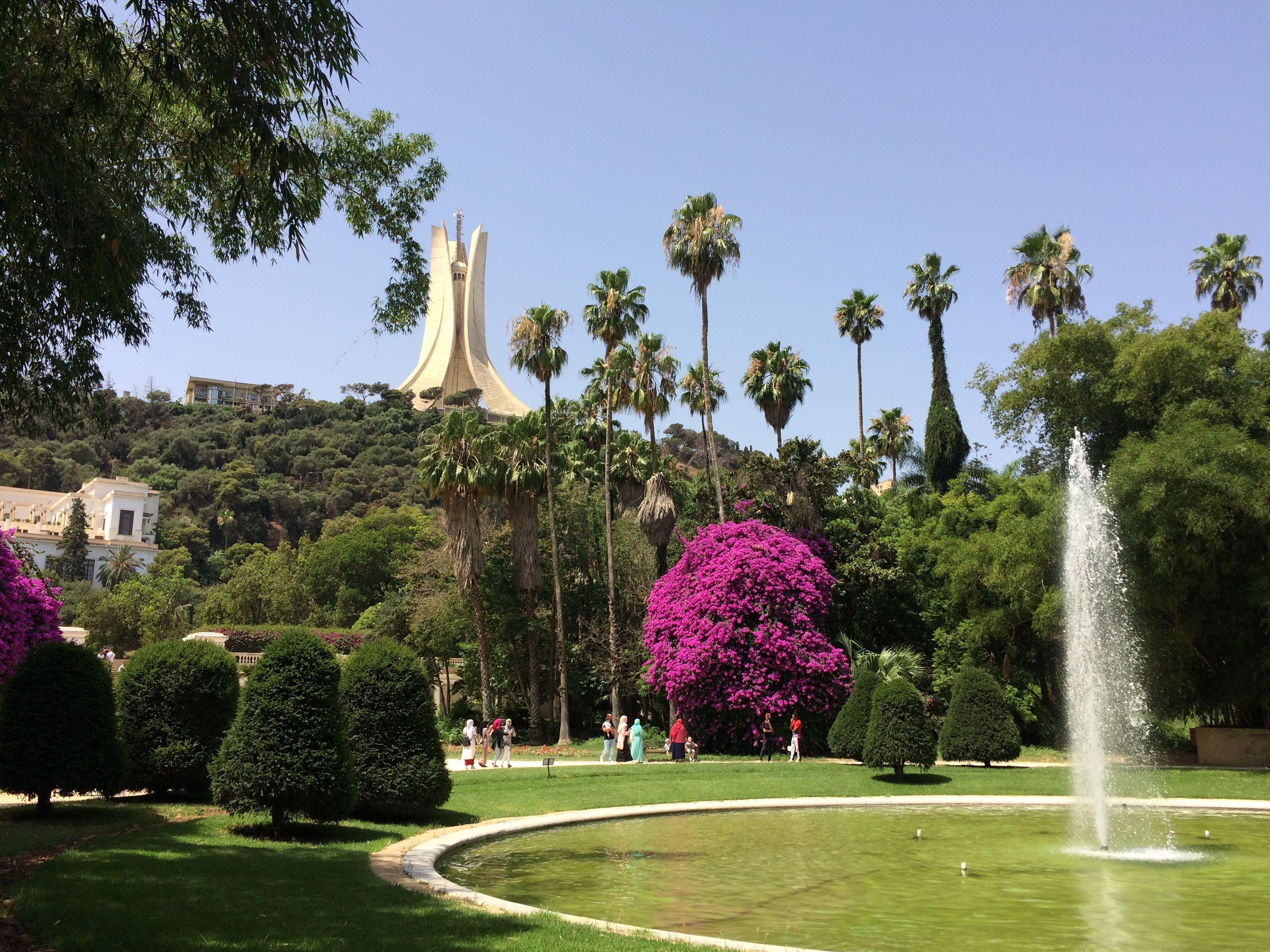 2e Incontournable Jardin D Essai El Hamma A Alger Jardins Alger