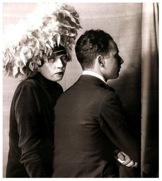Nancy Cunard * And Louis Aragon, 1926