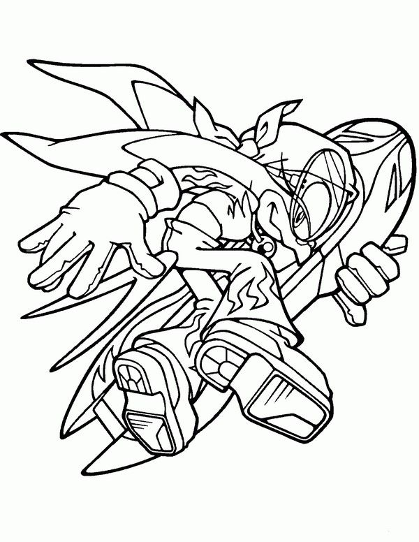 printable sonic the hedgehog wave coloring pages for kids printable sonic the hedgehog coloring pages for kids - Sonic The Hedgehog Coloring Book