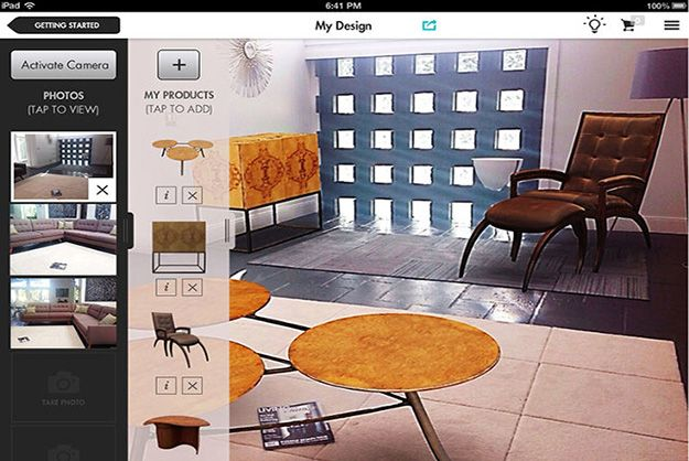 Design App Lets People Add Virtual Furniture To Their Living Room [Video