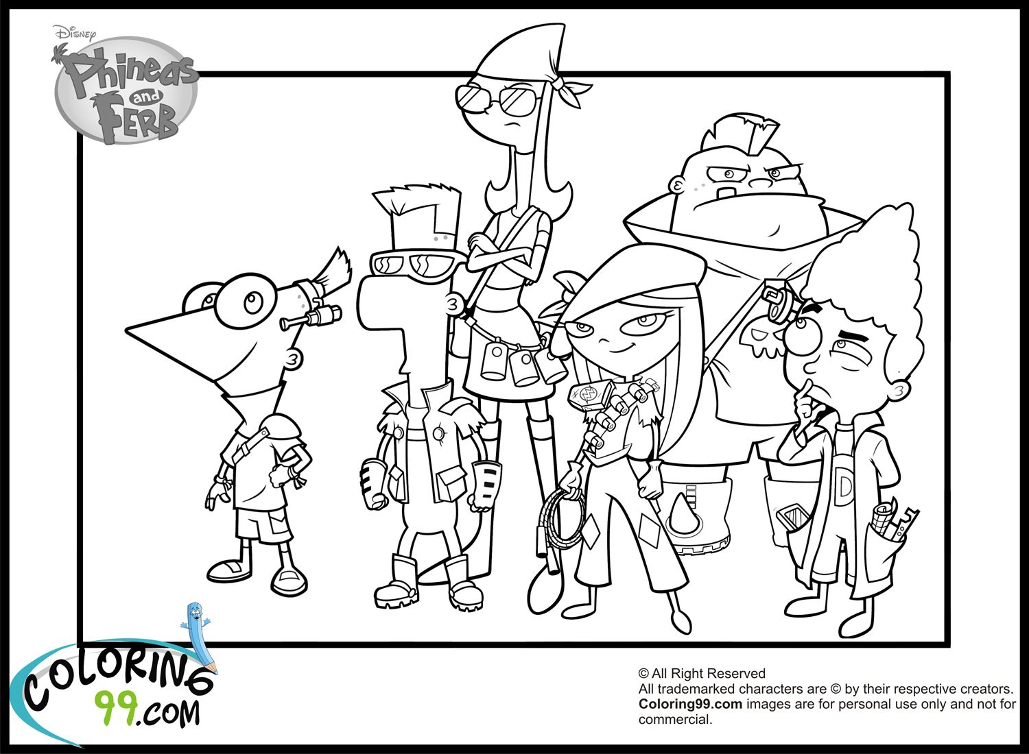 Google Coloring Pages Free Large Images Coloring Pages Phineas And Ferb Star Wars Colors