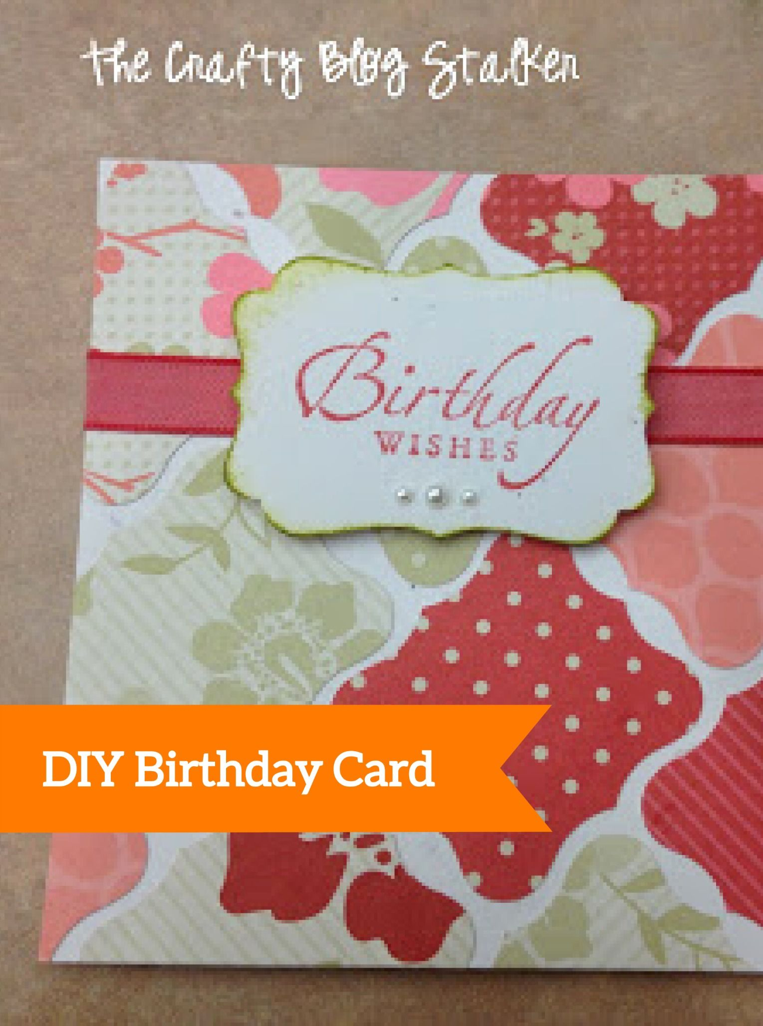 How To Make A Birthday Wishes Handmade Birthday Card Handmade
