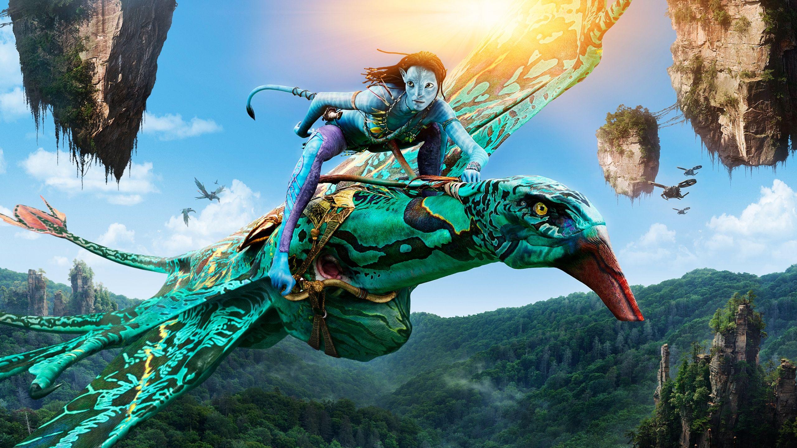 Wallpaper Neytiri Seze Avatar Hd Movies 4115: Neytiri On Seze, From James Cameron's Avatar