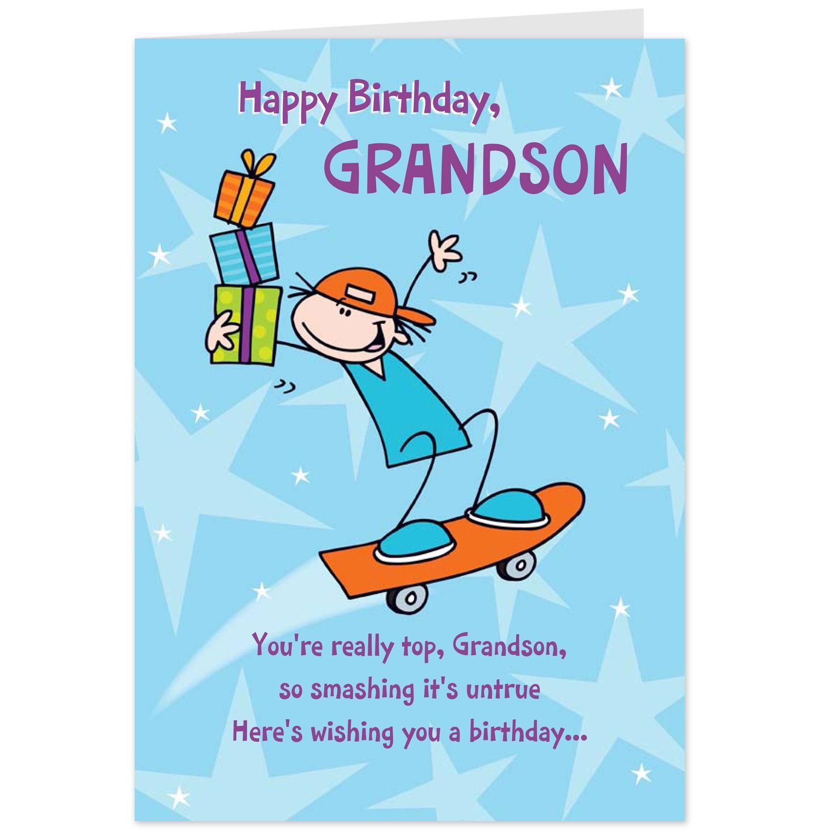 Shop Hallmark Cards Grandson Birthday Cards Happy Birthday Grandson First Birthday Wishes