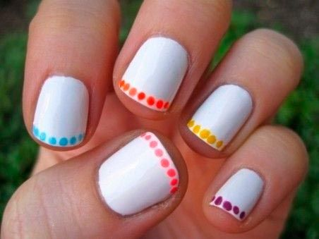 Dramatic Nail Designs For Short Nails Shortnails Unghie
