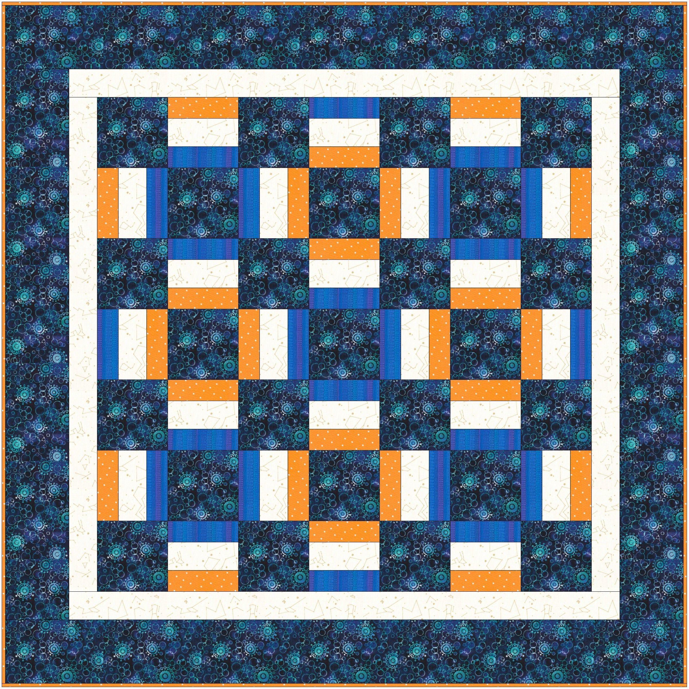 Window Box Easy Quilt Pattern