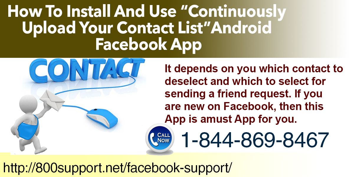 Continuously upload your contact listu0027 App which runs on Android - contact list