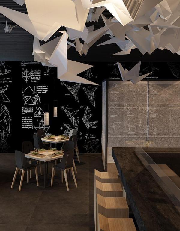 die besten 25 sushi bar design ideen auf pinterest restaurant z hler restaurant bar und cafe. Black Bedroom Furniture Sets. Home Design Ideas