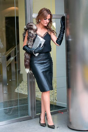 IMG_3645 Tight leather pencil skirt | mode | Pinterest | Leather ...