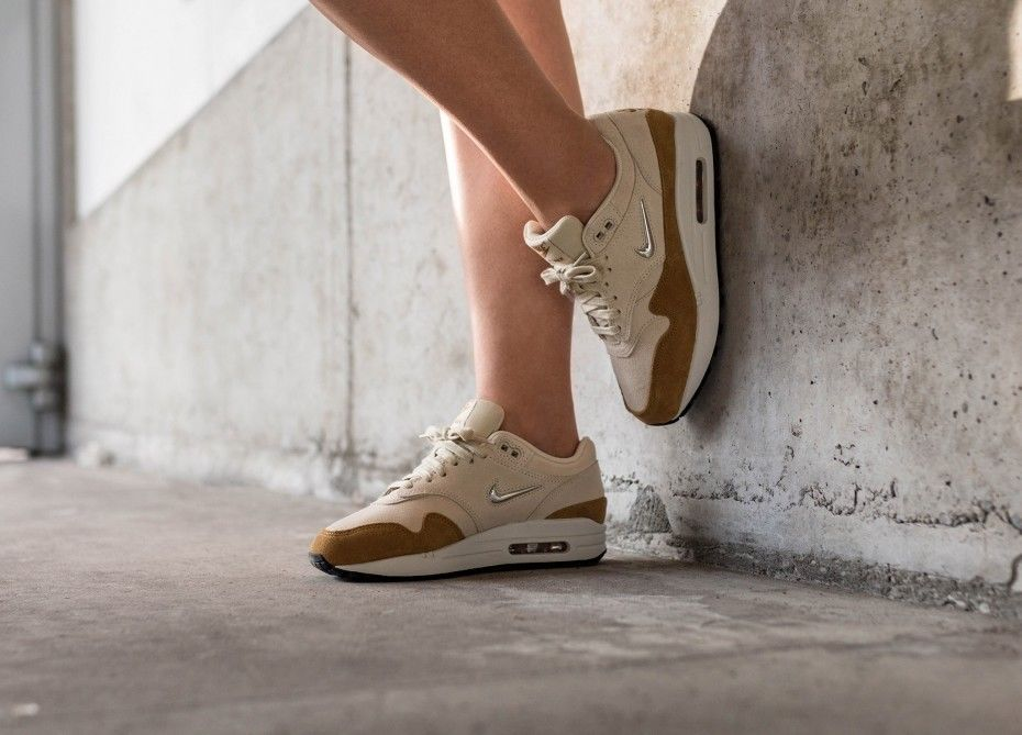 new style 2fae2 2f655 Nike Air Max 1  PRM SC    Beach Gold Bronze   Womens. Visit. January 2019