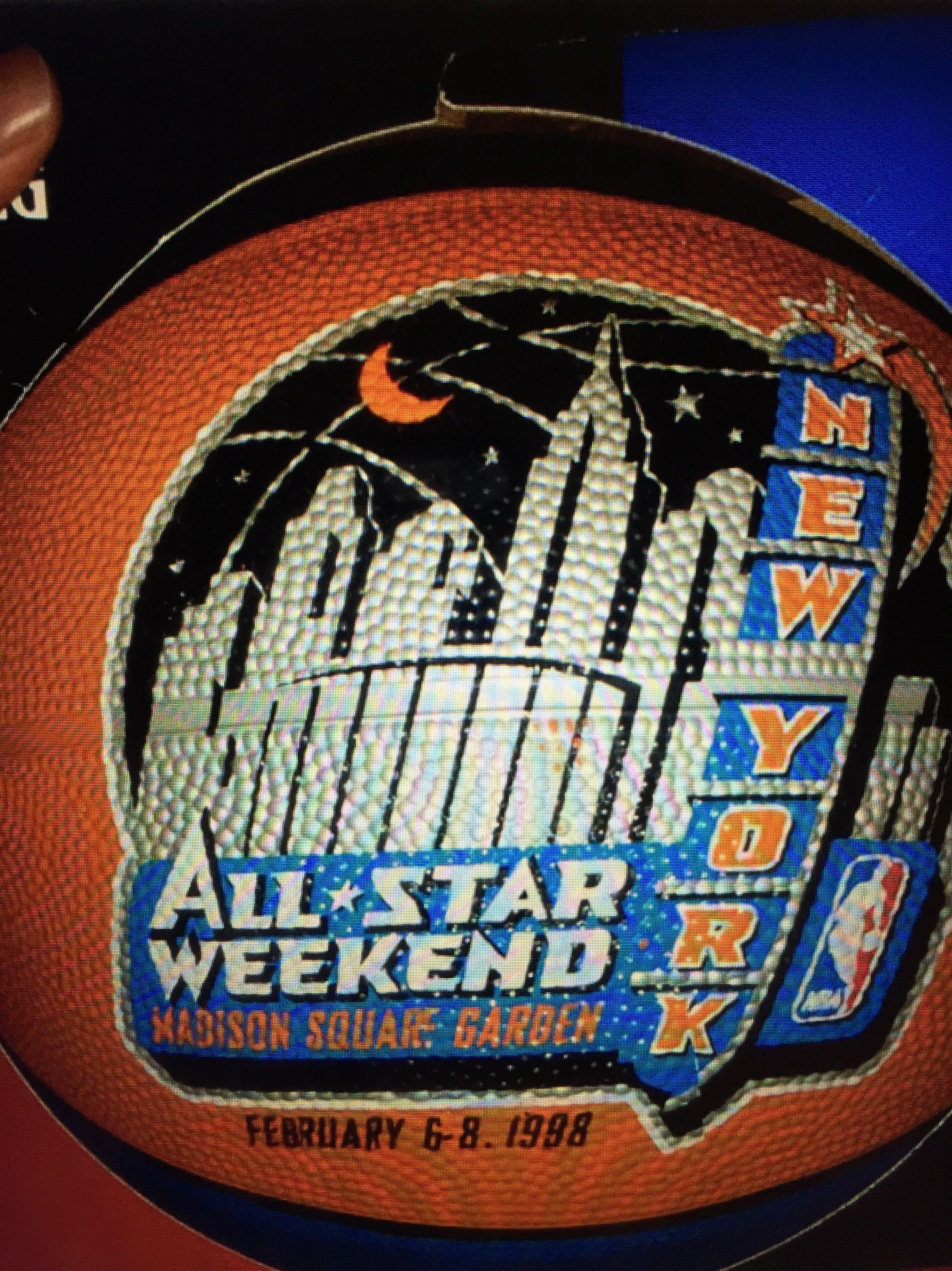 a90b85efe5c1b 1998 NBA All-Star Game Logo Basketball