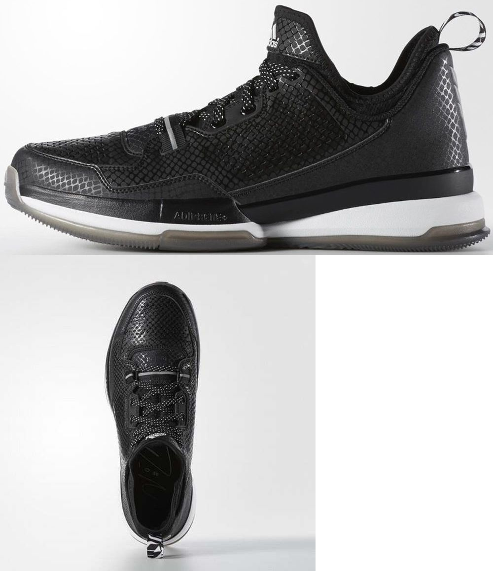 the latest 1a215 4113e Men 158971 Adidas Mens D Lillard Basketball Shoe (Black) S85767 Sz. 8