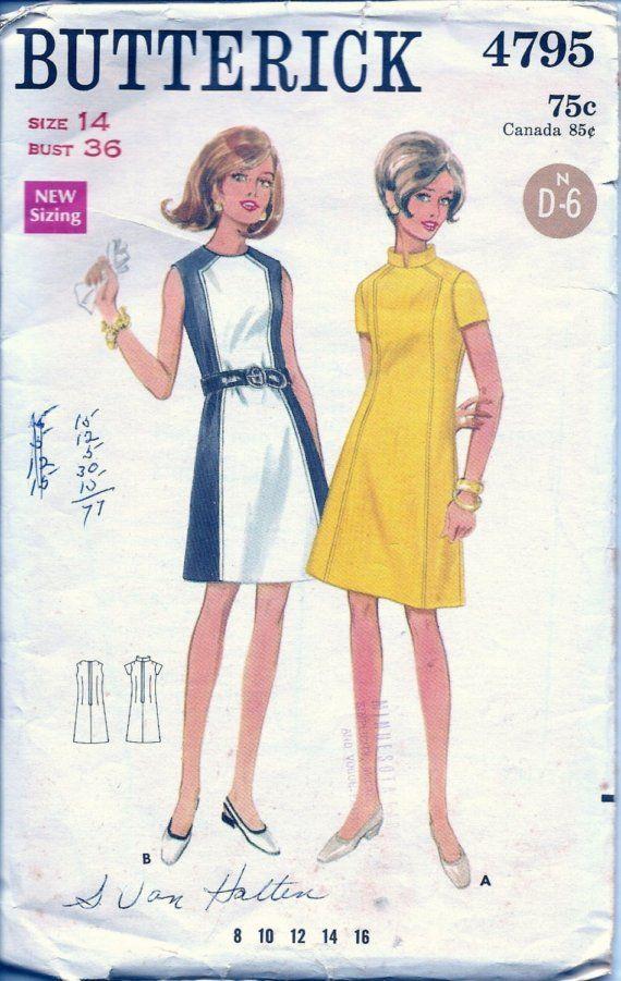 Vintage kleid 60s