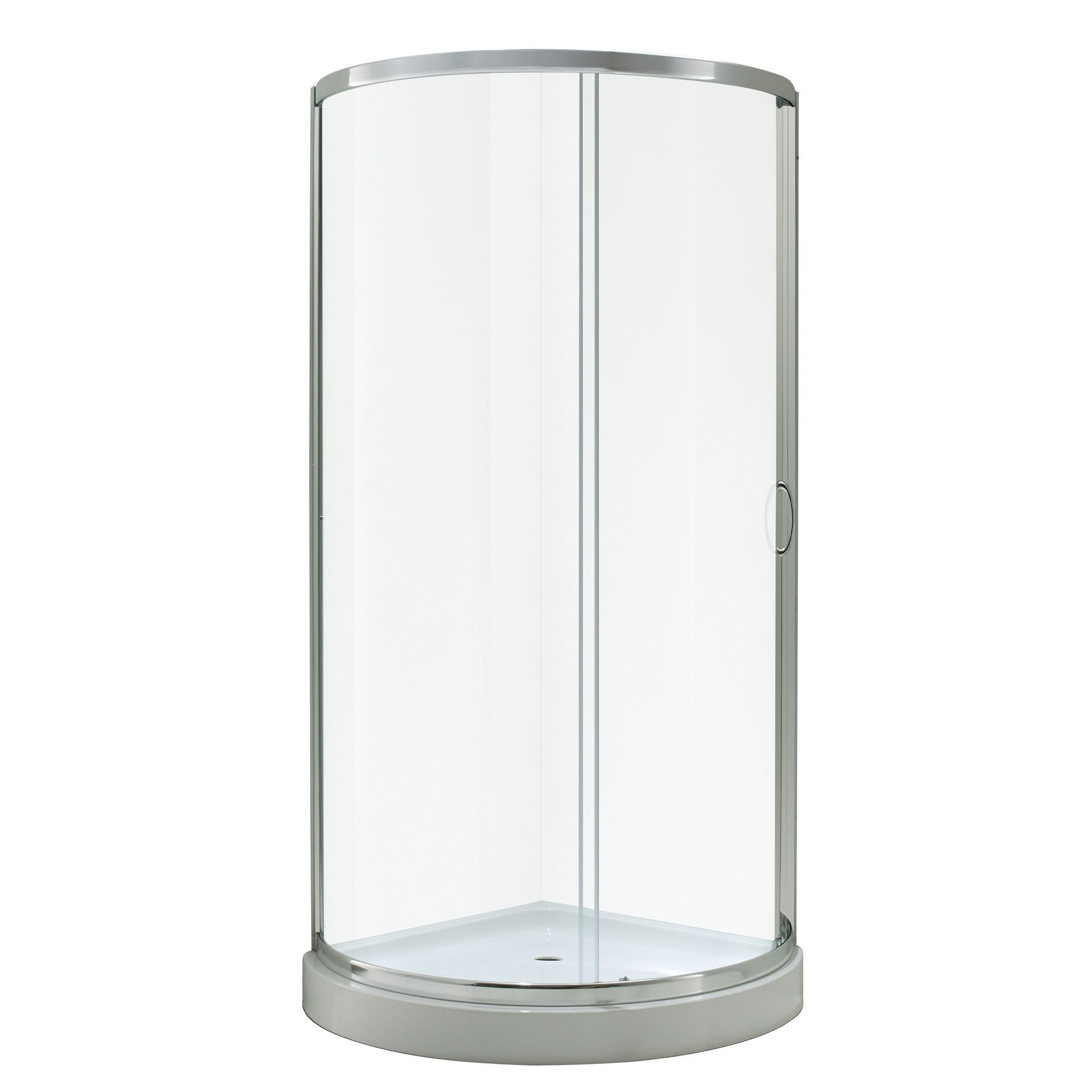 Ove Decors Breeze 36 Inch Shower Enclosure Kit With Paris Base