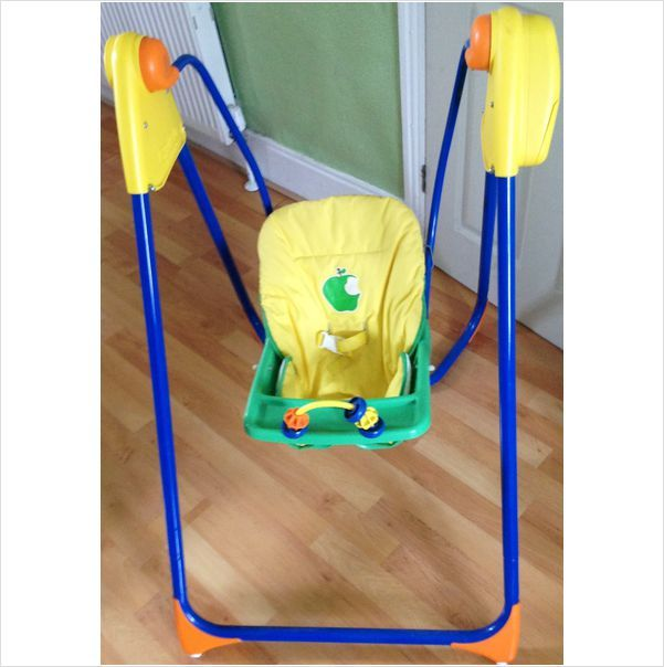 Graco Open Top Battery Operated Baby Swing Chair On Ebid