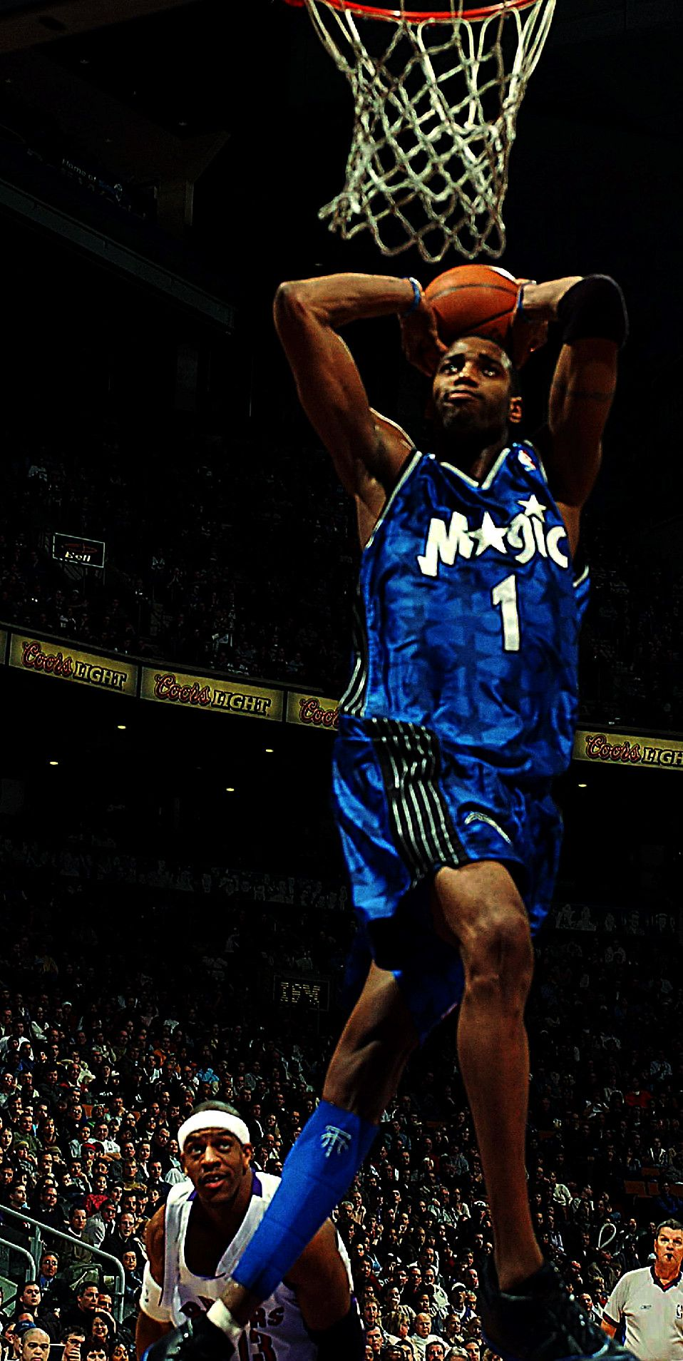 T Mac Chance S Big Brother Tracy Mcgrady I Love Basketball Basketball Photos