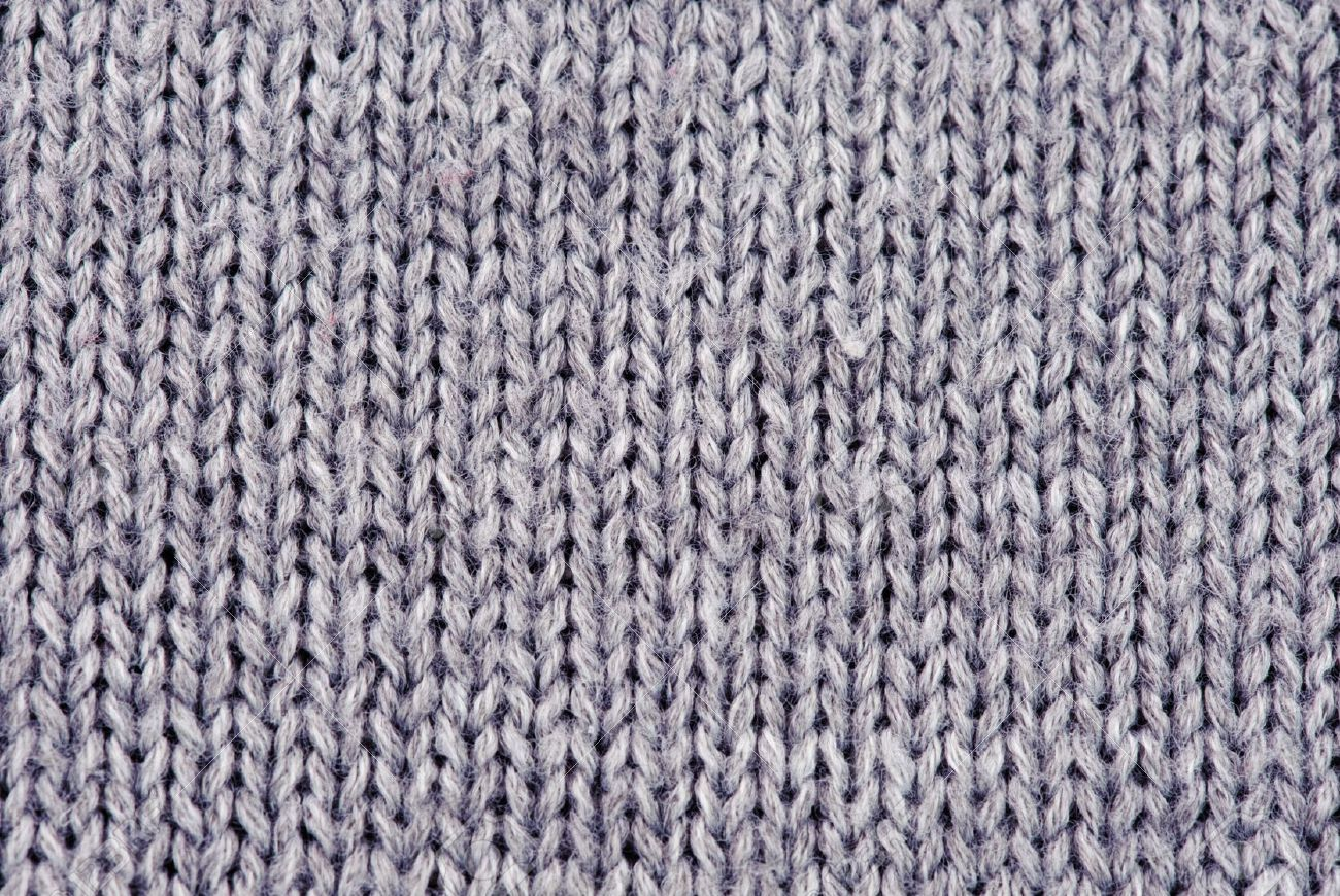 Close Up Photography Of Gray Knit Textile