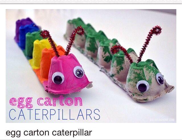 Pin By Carol Scheidl On Kids Craft Pinterest Crafts Egg Cartons