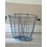 Vintage Industrial Wire Storage Basket