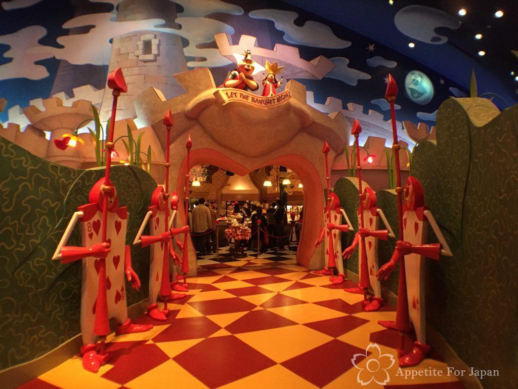 Alice In Wonderland Restaurant Tokyo Disneyland Alice In