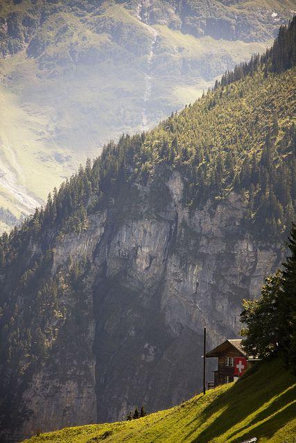 Gimmelwald, Switzerland //  by burton8003, via Flickr