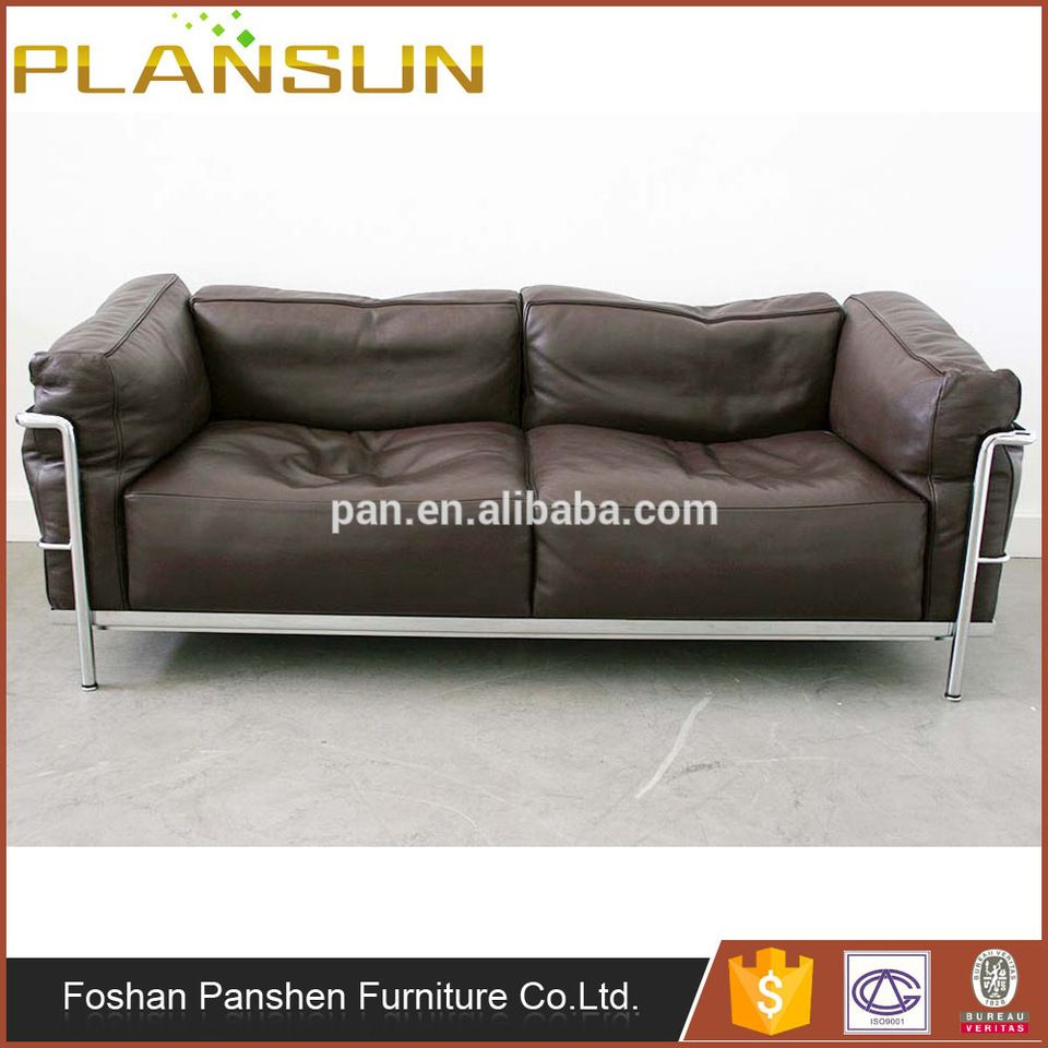 le corbusier sofa replica fl sofas for sale rich people furniture grand confort lc3 leather lovese loveseat
