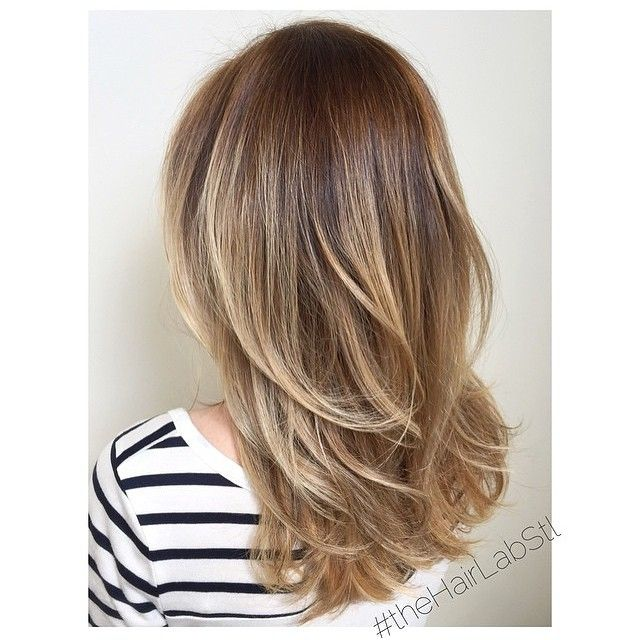 great layers for mid length hair beautiful hair pinterest