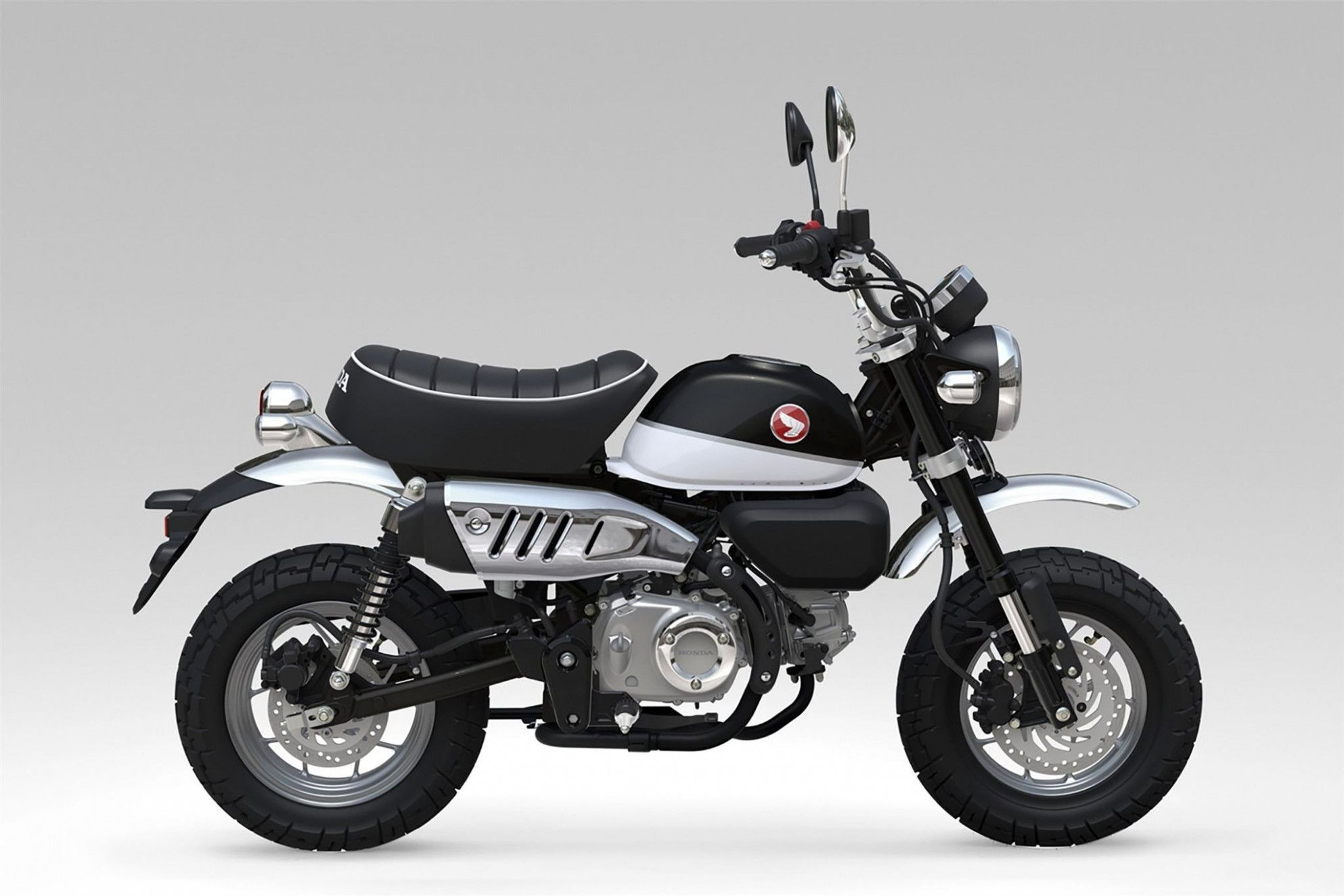 Honda Monkey 2020 Style In 2020 Black Honda Mini Bike Honda