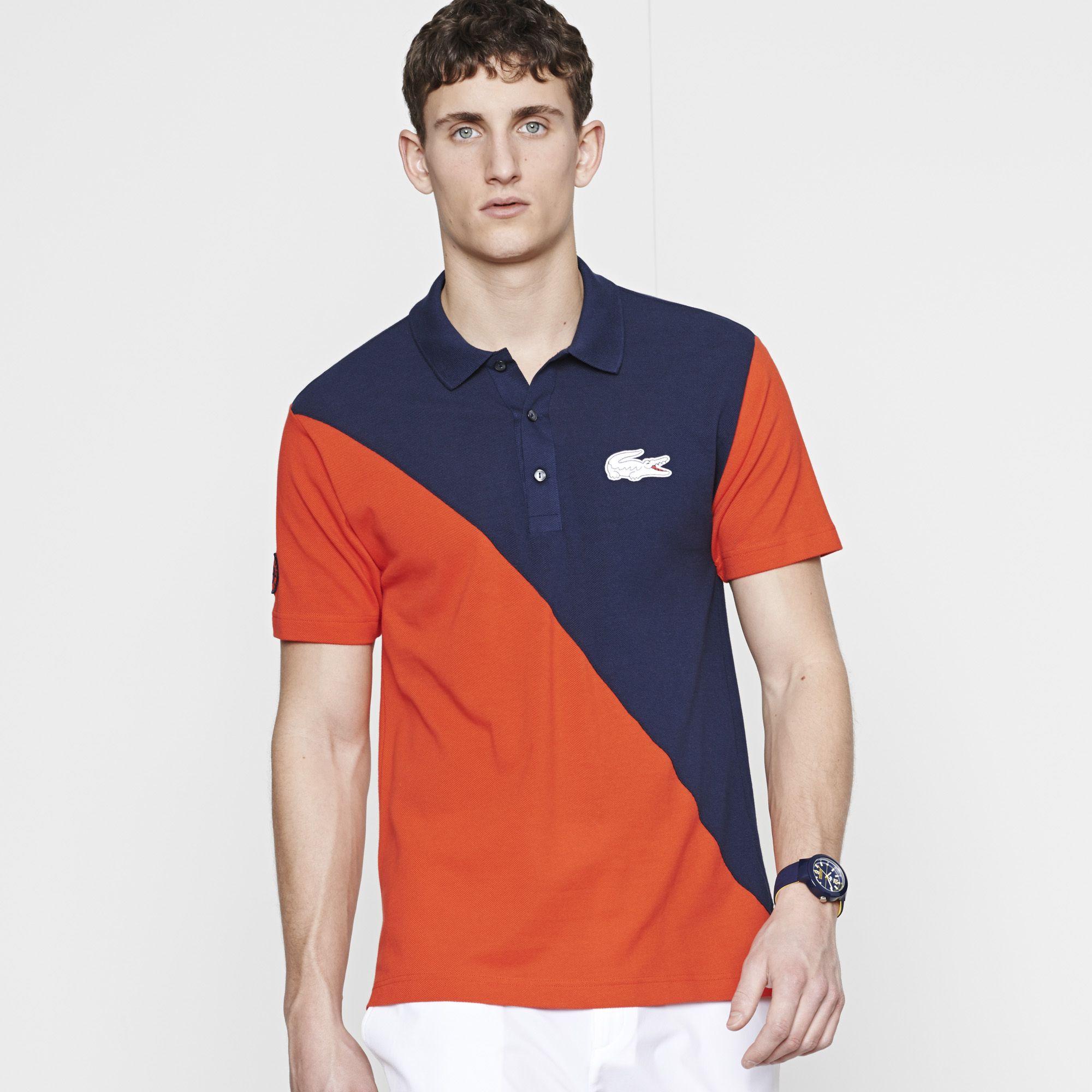 fb9f314d3 Polo Lacoste Sport uni Edition Roland Garros - ETNA/MARINE   LACOSTE ...