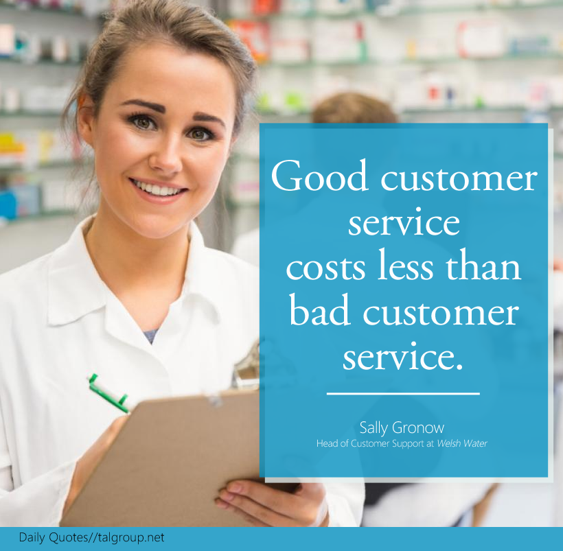 Essays on good customer service