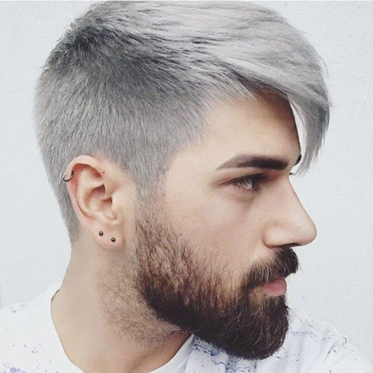 Coupe homme 2018 gris