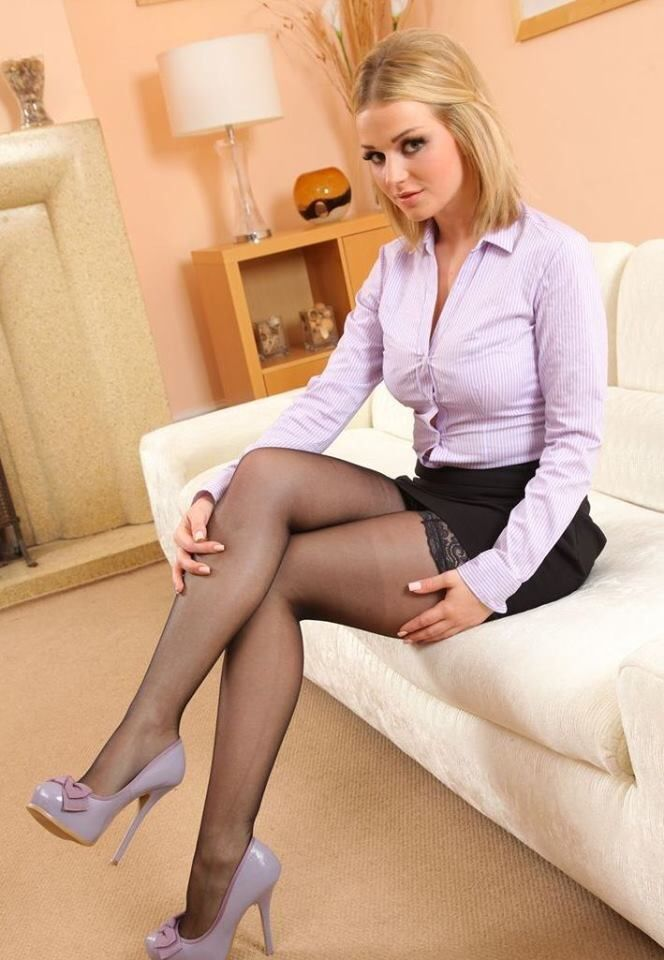 And Pleasure, legs pantyhose skirts Rae attractively