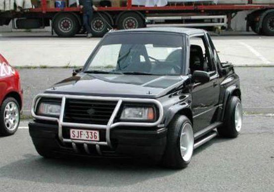1996 Vitara Fatboy Painted A Car With Rattle Cans Retro Rides