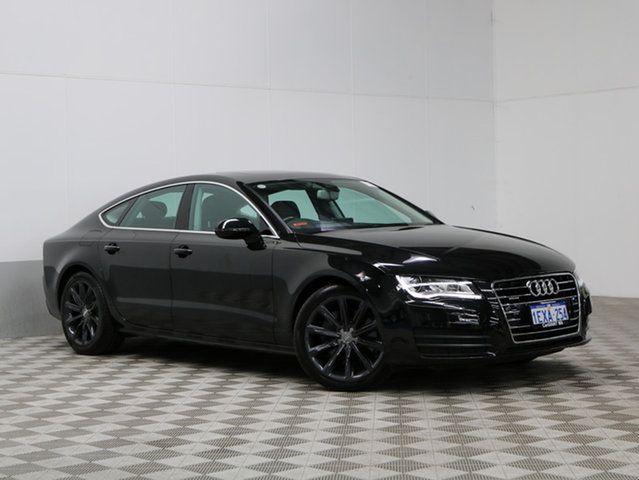 2012 Audi A7 4g Sportback 3 0 Tdi Quattro Black 7 Speed Automatic