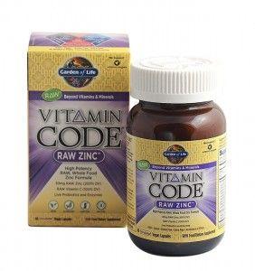 Surov Cink Raw Zinc Ot Vitamin Code Zinc Vitamin Vitamins