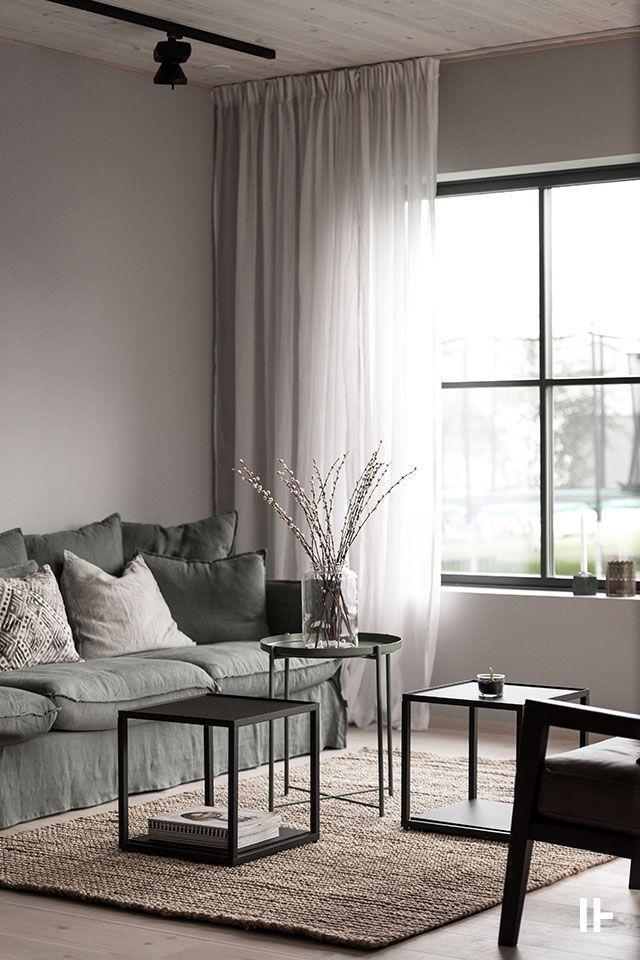 Villa Astrid Astrid Vardagsrum Villa In 2020 Living Room Decor Curtains Pinterest Living Room Living Room Designs