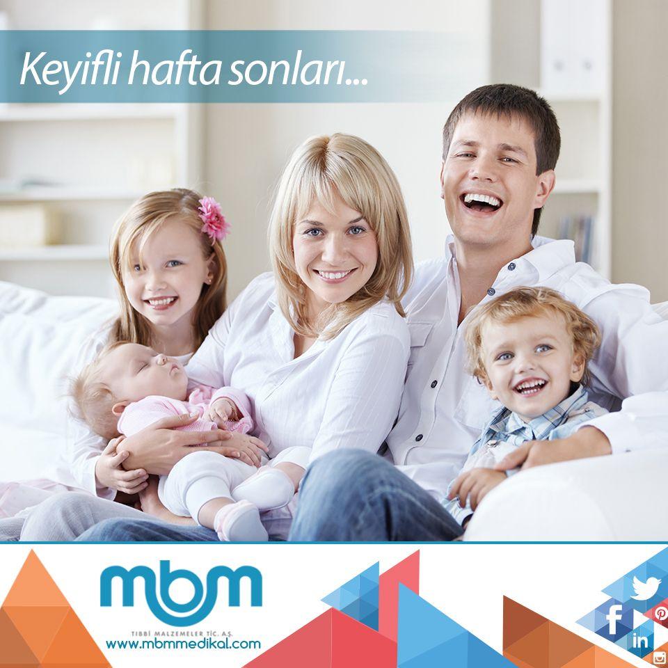 Sevdiklerinizle birlikte keyifli bir hafta sonu geçirmenizi dileriz... #MBMMedikal #medikal #medical #haftasonu