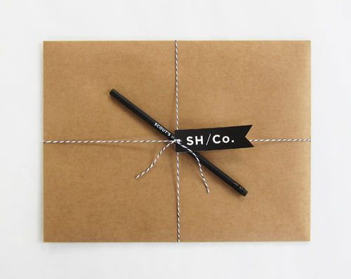 Do it yourself butcher paper wrapping gift wrap tags hand do it yourself butcher paper wrapping solutioingenieria Images